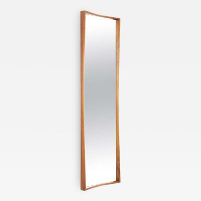 Ab Glas Tra Midcentury Scandinavian Mirror by Rimbert Sandholt for Glas Tr