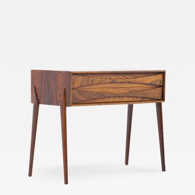 Ab Glas Tra Midcentury Scandinavian Side Table by Rimbert Sandholt for Glas Tr
