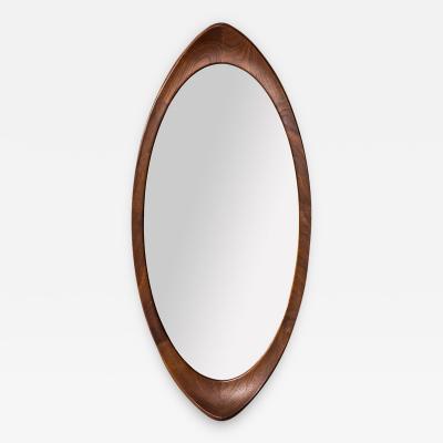 Ab Glas Tra Teak Mirror