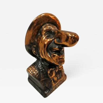 Abbot Wares Jimmy Durante Character Still Bank American 1940s