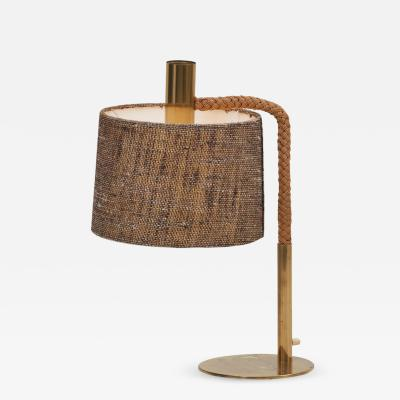 Adrien Audoux Frida Minet Elegant Fine Minet Rope Table Lamp by Adrien Audoux