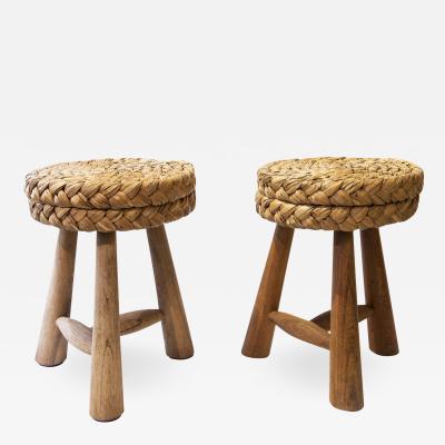 Adrien Audoux Frida Minet Pair of stools