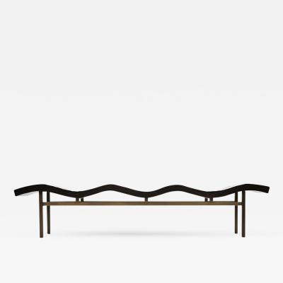 Aguirre Design Bamboo Wave Bench