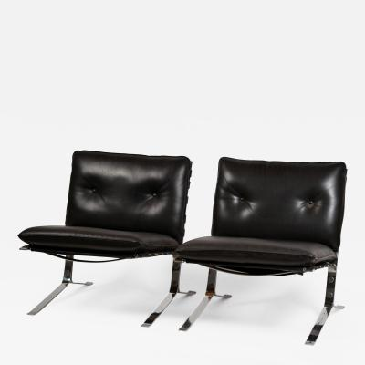 Airborne International Rare Pair of Original Joker Lounge Chairs by Olivier Mourgue for Airborne