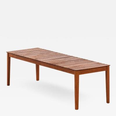 Alberts Side Table Bench Produced by Alberts in Tibro Sweden