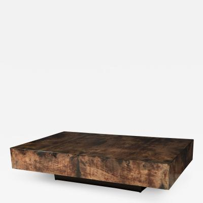 Aldo Tura Aldo Tura Parchment Low Table
