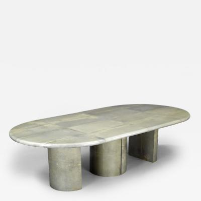 Aldo Tura Dining Table by Aldo Tura Italy ca 1970
