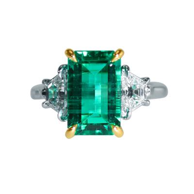 Aletto Brothers Aletto Colombian Emerald and Diamond Ring