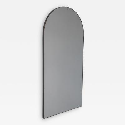 Alguacil Perkoff Ltd Arcus Arch shaped Large Mirror with Bronze Patina Frame