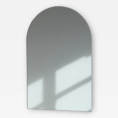 Alguacil Perkoff Ltd Arcus Arch shaped Minimalist Frameless Mirror