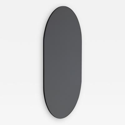 Alguacil Perkoff Ltd Capsula Capsule shaped Black Tinted Contemporary Frameless Mirror