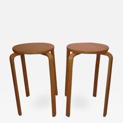 Alvar Aalto Re Edition Alvar Aalto style Stool Tables 63 Bentwood