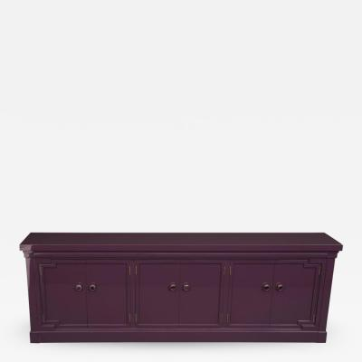 American of Martinsville Martinsville Amethyst Lacquer Credenza