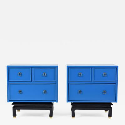 American of Martinsville Pair of Mid Century Modern style Chest of Drawers by American of Martinsville