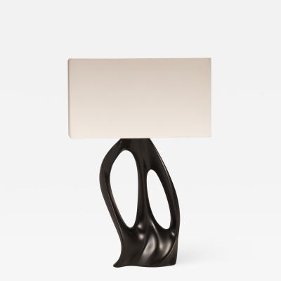 Amorph Amorph Ana Table Lamp Black Lacquer with Ivory Silk Shade