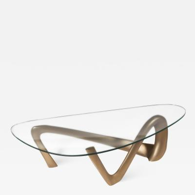 Amorph Amorph Iris Coffee Table Gold Finish