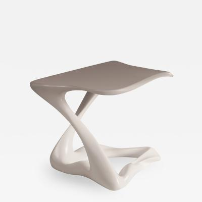 Amorph Amorph Tryst Side Table in White Lacquer Matte