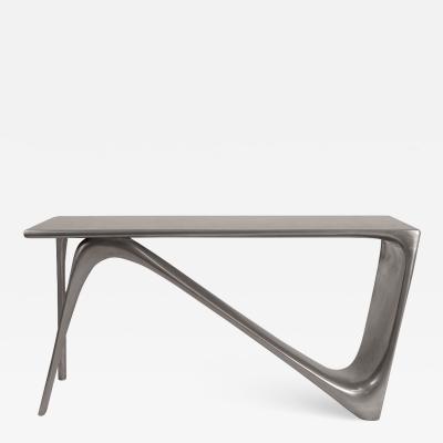Amorph Amorphs Astra Desk Metal Finish Stainless Steel Finish