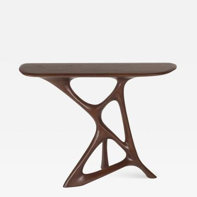 Amorph Anika Console Table Walnut Finish
