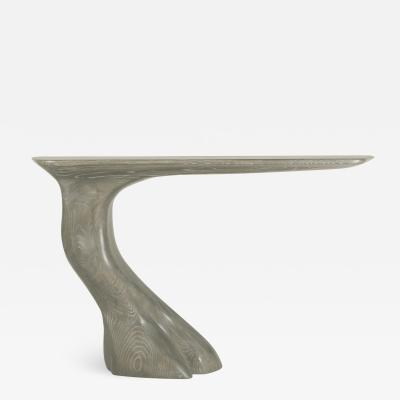 Amorph Frolic Console Table Wall Mounted Solid Wood Mesa Finish