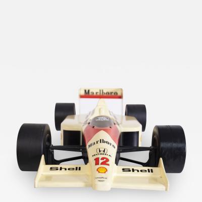 Andrew McLaren Co McLaren Car Scale Model Honda Celebrating Ayrton Senna