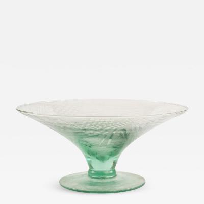 Angelo Rinaldi Geometrical Glass Bowl