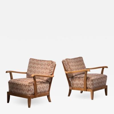 Anna L lja Praun Pair of Anna Lulja Praun armchairs
