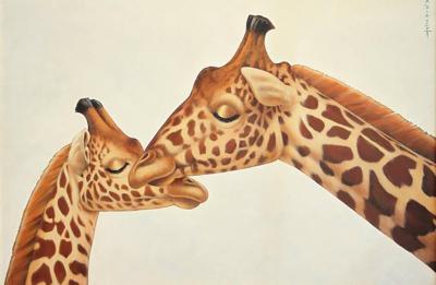 Annick Biaudet Annick Biaudet Disney Artist Girafes