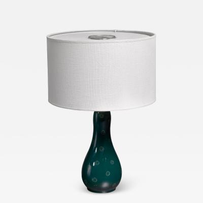 Arabia Toini Muona ceramic table lamp for Arabia Finland 1960s