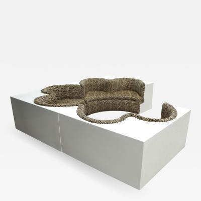 Archizoom Associati Archizoom Associati Modular Safari Imperial Sofa for Paltronova Italy 1970s