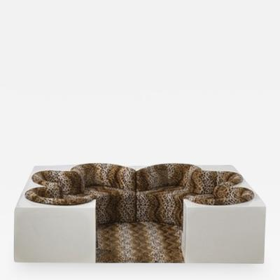 Archizoom Associati Safari lounge sofa Archizoom Associati 1968