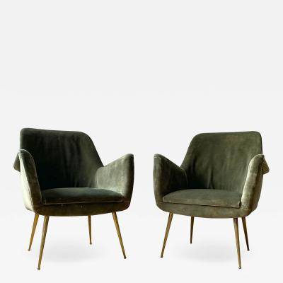 Arflex PAIR OF ARMCHAIRS BY ARFLEX