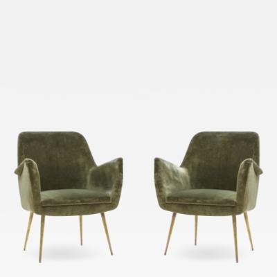 Arflex Pair of Arflex Armchairs