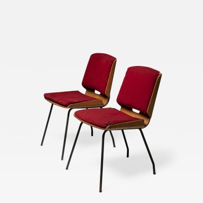 Arflex Pair of Lucania Chairs by Giancarlo De Carlo for Arflex