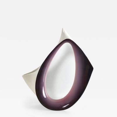 Ariele Ceramic Vase from Ariele Turin 1950s