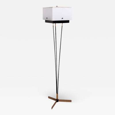 Arlus Rare French Modern Floor Lamp by Arlus