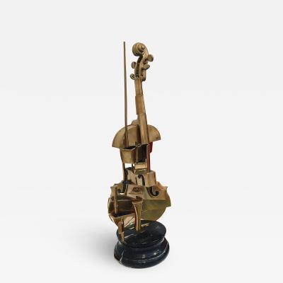 Arman Violon Spirale Cubist Violon N 3