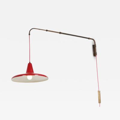 Arredoluce 1950s Extendable Wall Lamp style of Arredoluce Italy