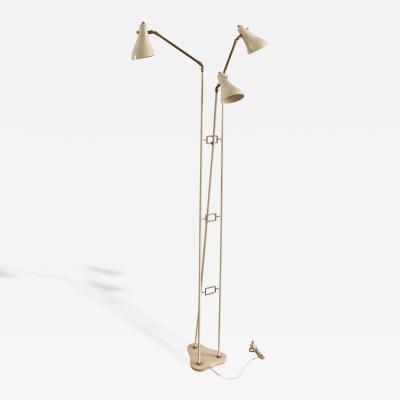 Arredoluce 1950s Three Arms Floor Lamp