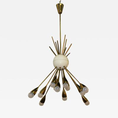 Arredoluce Arredoluce Chandelier made in 1950 in Italy