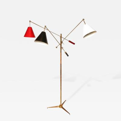Arredoluce Arredoluce Triennale Floor Lamp with Tripod Base