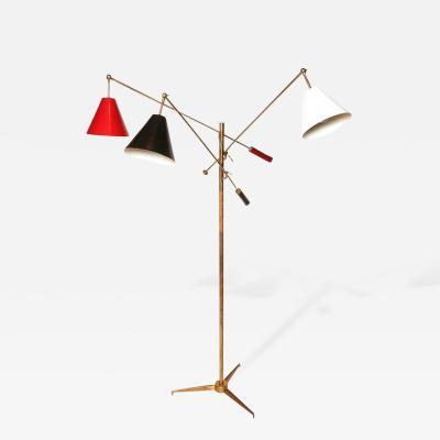 Arredoluce Arredoluce Triennale Floor Lamp with Tripod Base