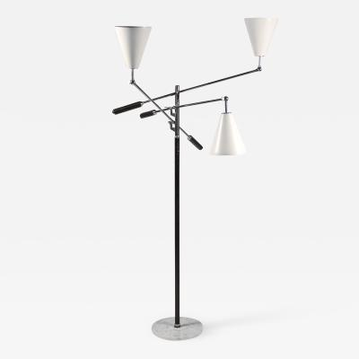 Arredoluce Arredoluce Triennale Three Arm Adjustable Floor Lamp