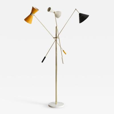 Arredoluce ITALIAN THREE ARM FLOOR LAMP IN THE STYLE OF ARREDOLUCE