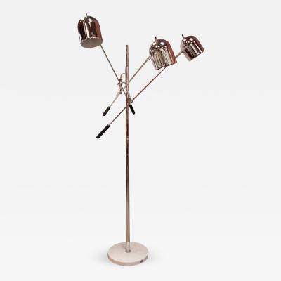 Arredoluce Italian 60s Arredoluce 3 Arm Floor Lamp
