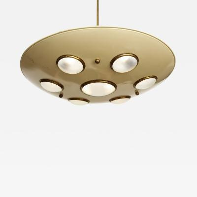 Arredoluce Suspension light fixture by Arredoluce