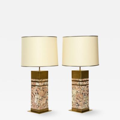 Arriau Pair of Irusia Table Lamps