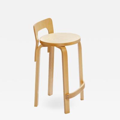 Artek Authentic High Chair K65 in Lacquered Birch by Alvar Aalto Artek