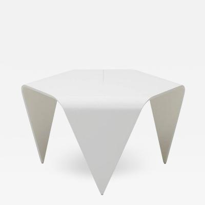 Artek Authentic Trienna Table in White Lacquer by Ilmari Tapiovaara Artek