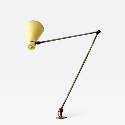 Arteluce Articulated Clamp Table Light or Task Lamp by Vittoriano Vigano for Arteluce